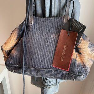 Giorgio Brato Tie Dye Leather Bag New